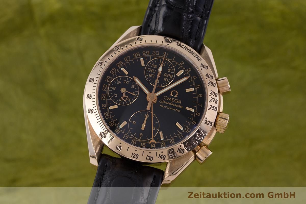 omega speedmaster day date red gold Shop for speedmaster day date men's watch by omega at jomashop for only $3,59500 warranty or guarantee available with every item we are the internet's leading source for men's.