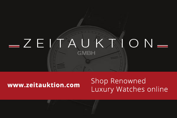 Used luxury watch Glashütte * gold-plated manual winding Kal. 09-20  | 130713 05
