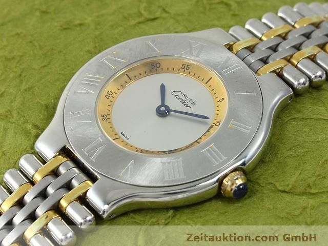 Used luxury watch Cartier Ligne 21 gilt steel quartz Kal. 90.06  | 140002 01