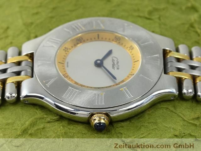 Used luxury watch Cartier Ligne 21 gilt steel quartz Kal. 90.06  | 140002 05