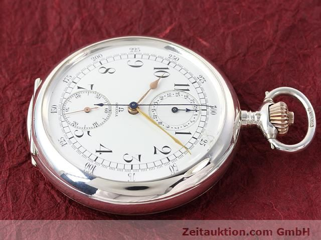 Used luxury watch Omega Taschenuhr silver manual winding  | 140003 03