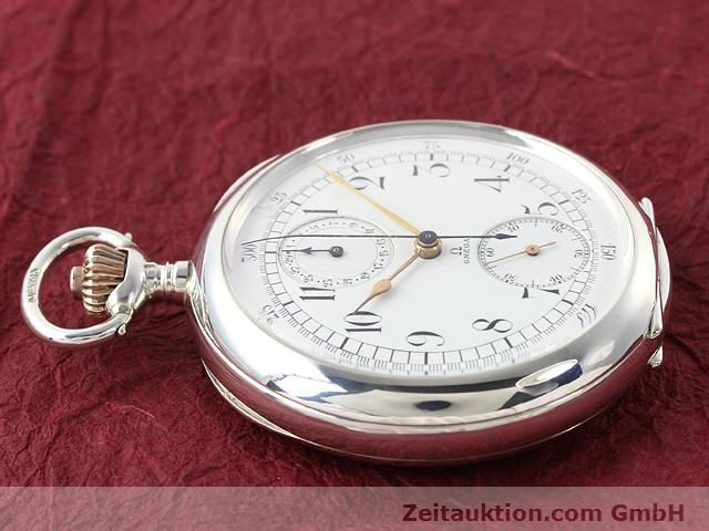Used luxury watch Omega Taschenuhr silver manual winding  | 140003 05