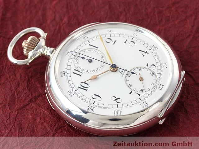 Used luxury watch Omega Taschenuhr silver manual winding  | 140003 16