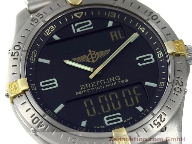 Used luxury watch Breitling Aerospace titanium / gold quartz Kal. ETA E10391 Ref. F65062  | 140007 02