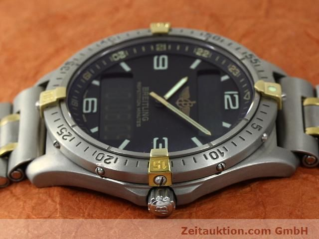 Used luxury watch Breitling Aerospace titanium / gold quartz Kal. ETA E10391 Ref. F65062  | 140007 05