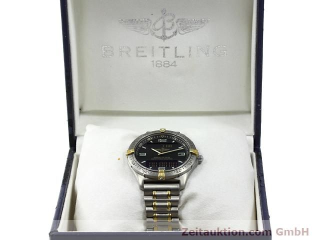 Used luxury watch Breitling Aerospace titanium / gold quartz Kal. ETA E10391 Ref. F65062  | 140007 07