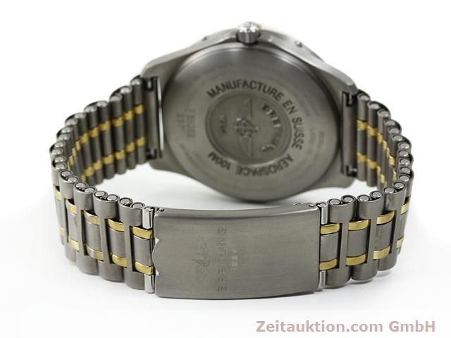 Used luxury watch Breitling Aerospace titanium / gold quartz Kal. ETA E10391 Ref. F65062  | 140007 11