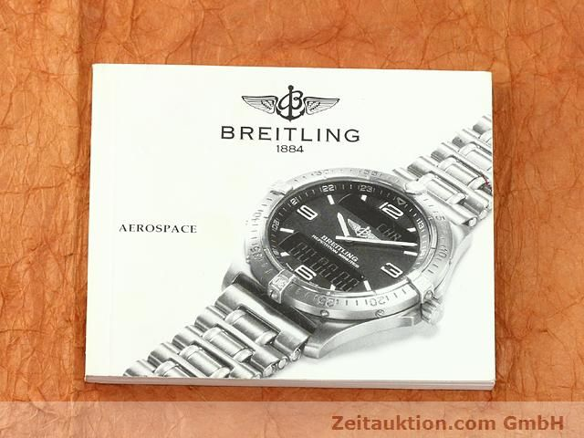 Used luxury watch Breitling Aerospace titanium / gold quartz Kal. ETA E10391 Ref. F65062  | 140007 12