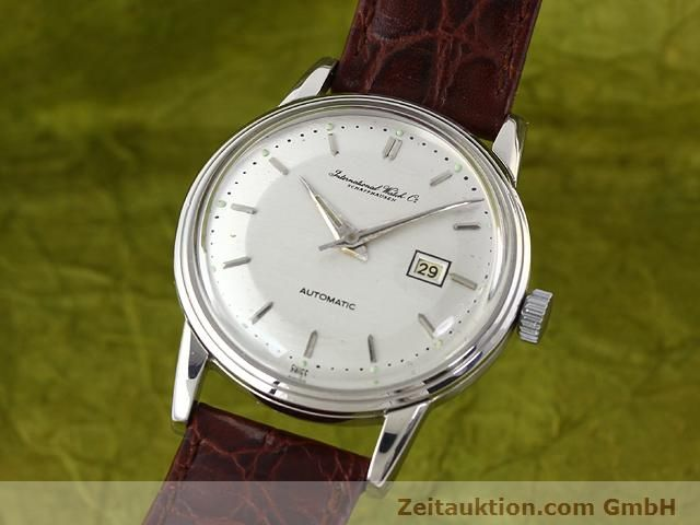 Used luxury watch IWC * steel automatic Kal. 8521  | 140008 04