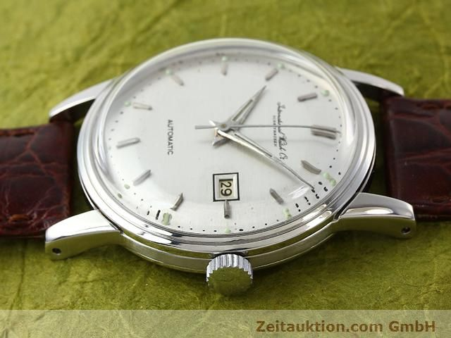 Used luxury watch IWC * steel automatic Kal. 8521  | 140008 05