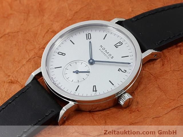Used luxury watch Nomos Tangente steel manual winding Kal. Alpha 89868  | 140010 01