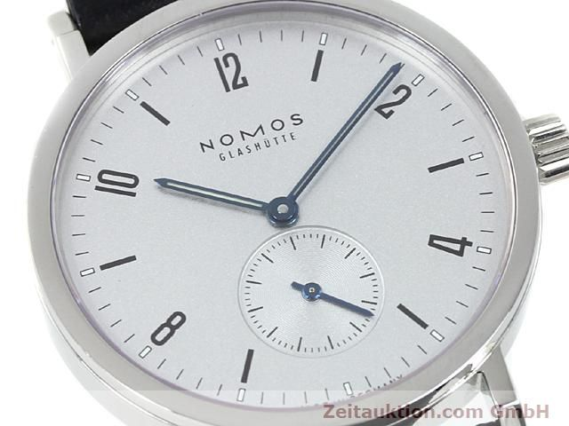 Used luxury watch Nomos Tangente steel manual winding Kal. Alpha 89868  | 140010 02