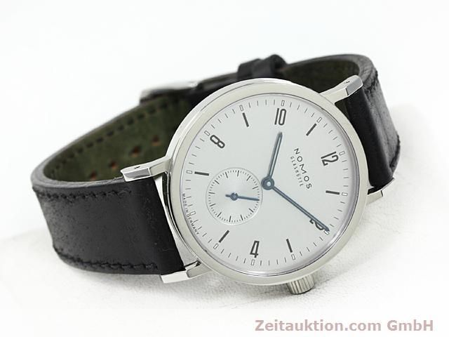 Used luxury watch Nomos Tangente steel manual winding Kal. Alpha 89868  | 140010 03