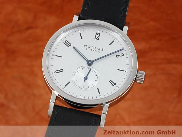 Used luxury watch Nomos Tangente steel manual winding Kal. Alpha 89868  | 140010 04