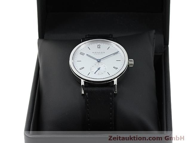 Used luxury watch Nomos Tangente steel manual winding Kal. Alpha 89868  | 140010 07