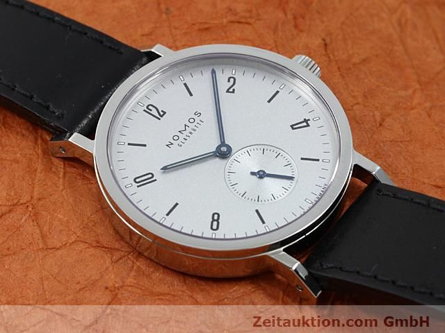 Used luxury watch Nomos Tangente steel manual winding Kal. Alpha 89868  | 140010 13