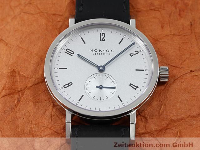 Used luxury watch Nomos Tangente steel manual winding Kal. Alpha 89868  | 140010 14