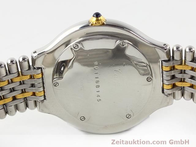 Used luxury watch Cartier Ligne 21 gilt steel quartz Kal. 87.06  | 140011 09