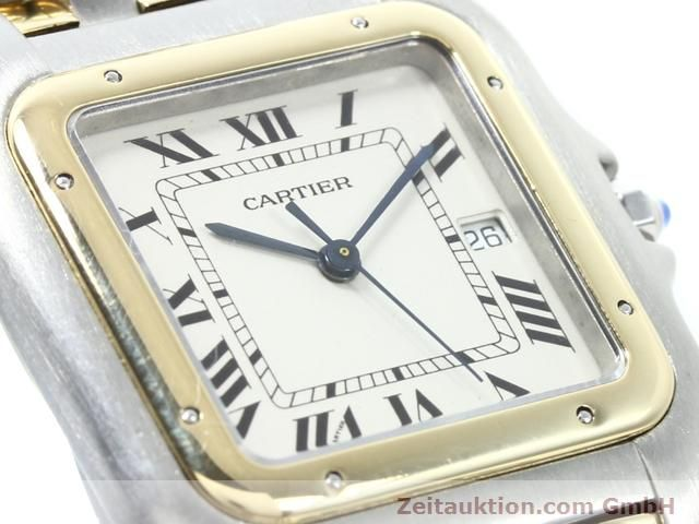 montre de luxe d occasion Cartier Panthere acier / or  quartz Kal. 83  | 140013 02