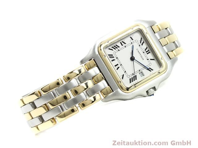 montre de luxe d occasion Cartier Panthere acier / or  quartz Kal. 83  | 140013 03