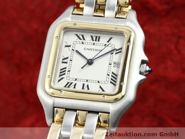 montre de luxe d occasion Cartier Panthere acier / or  quartz Kal. 83  | 140013 04
