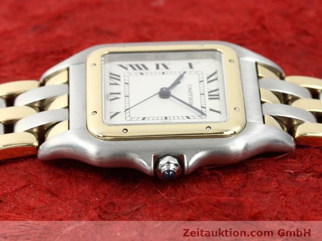 montre de luxe d occasion Cartier Panthere acier / or  quartz Kal. 83  | 140013 05