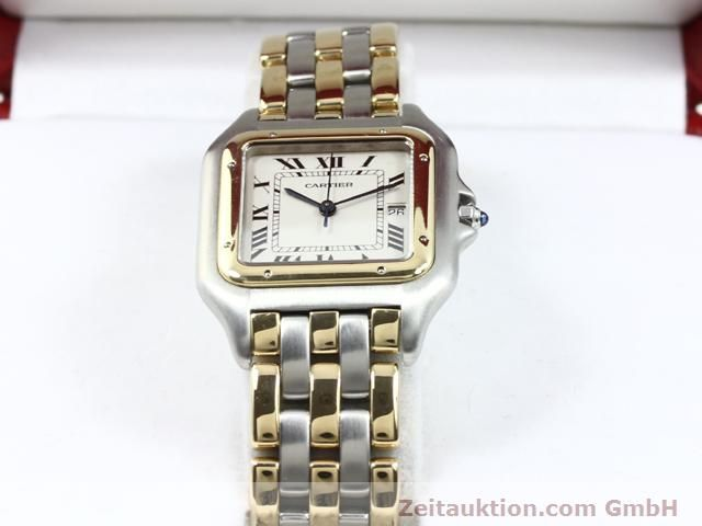 montre de luxe d occasion Cartier Panthere acier / or  quartz Kal. 83  | 140013 07