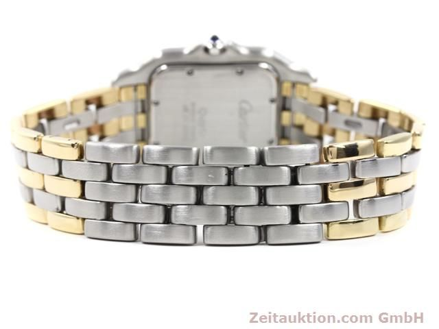 montre de luxe d occasion Cartier Panthere acier / or  quartz Kal. 83  | 140013 09