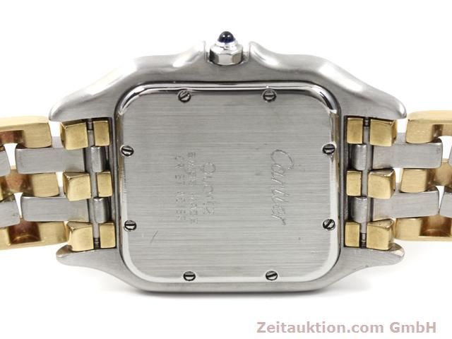 montre de luxe d occasion Cartier Panthere acier / or  quartz Kal. 83  | 140013 10
