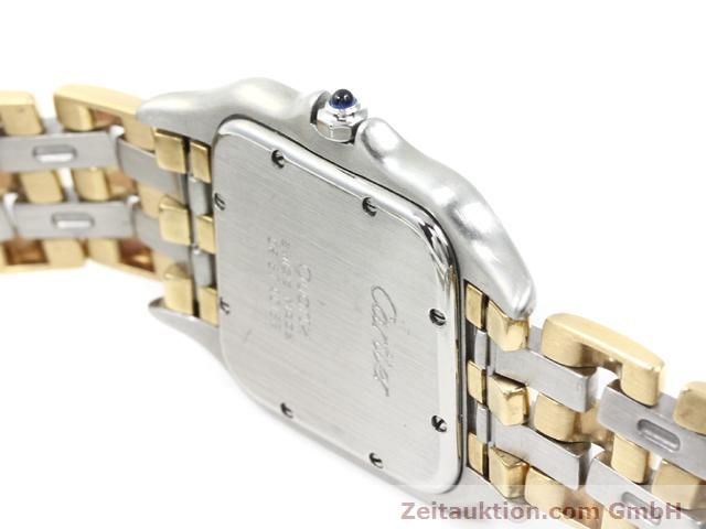 montre de luxe d occasion Cartier Panthere acier / or  quartz Kal. 83  | 140013 11