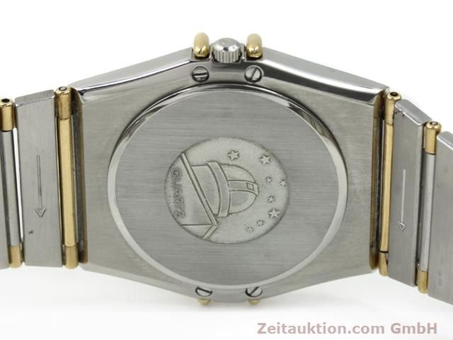 Used luxury watch Omega Constellation steel / gold quartz Kal. 1430 ETA 255411  | 140014 09