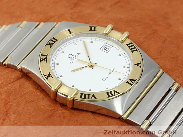 Used luxury watch Omega Constellation steel / gold quartz Kal. 1430 ETA 255411  | 140014 12