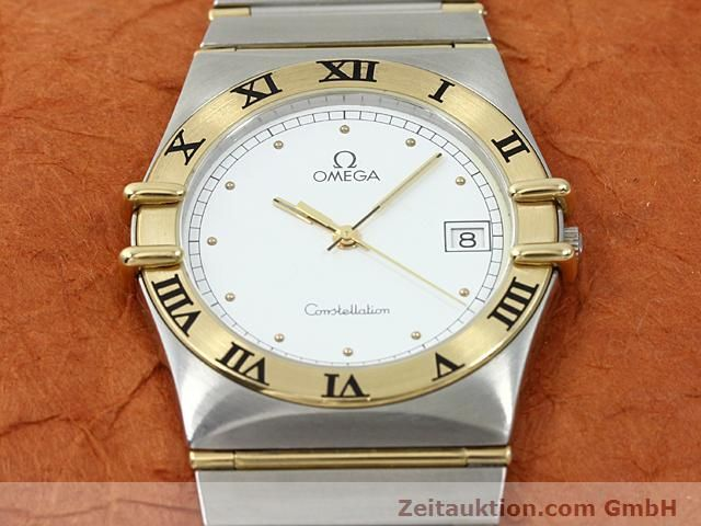 Used luxury watch Omega Constellation steel / gold quartz Kal. 1430 ETA 255411  | 140014 13