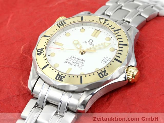 Used luxury watch Omega Seamaster steel / gold automatic Kal. 1109 ETA 2892A2  | 140015 01