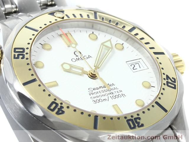 Used luxury watch Omega Seamaster steel / gold automatic Kal. 1109 ETA 2892A2  | 140015 02