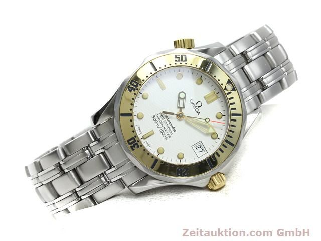 Used luxury watch Omega Seamaster steel / gold automatic Kal. 1109 ETA 2892A2  | 140015 03