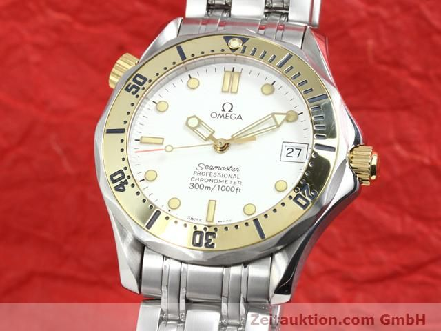 Used luxury watch Omega Seamaster steel / gold automatic Kal. 1109 ETA 2892A2  | 140015 04
