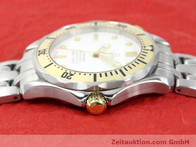 Used luxury watch Omega Seamaster steel / gold automatic Kal. 1109 ETA 2892A2  | 140015 05
