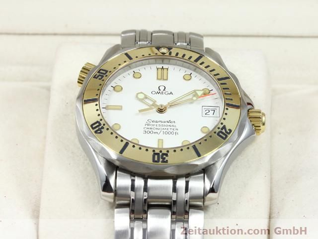 Used luxury watch Omega Seamaster steel / gold automatic Kal. 1109 ETA 2892A2  | 140015 07