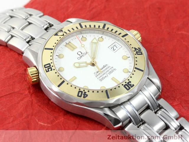 Used luxury watch Omega Seamaster steel / gold automatic Kal. 1109 ETA 2892A2  | 140015 15
