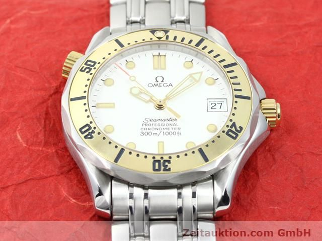 Used luxury watch Omega Seamaster steel / gold automatic Kal. 1109 ETA 2892A2  | 140015 16