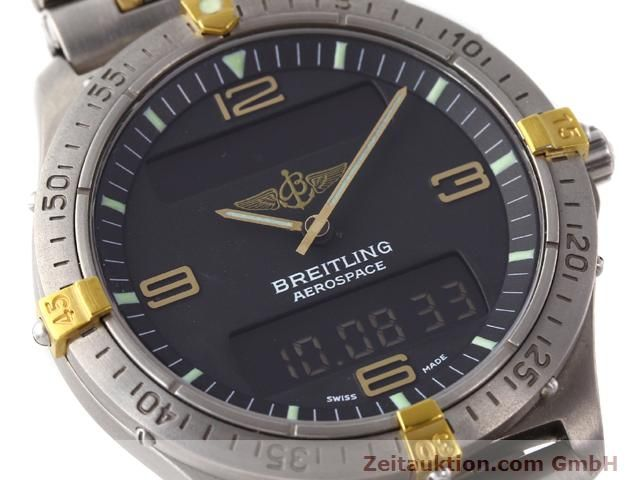 Used luxury watch Breitling Aerospace titanium / gold quartz Kal. ETA 988333 Ref. F56062  | 140016 02