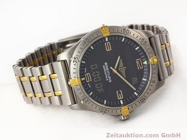 Used luxury watch Breitling Aerospace titanium / gold quartz Kal. ETA 988333 Ref. F56062  | 140016 03