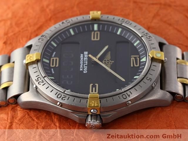 Used luxury watch Breitling Aerospace titanium / gold quartz Kal. ETA 988333 Ref. F56062  | 140016 05