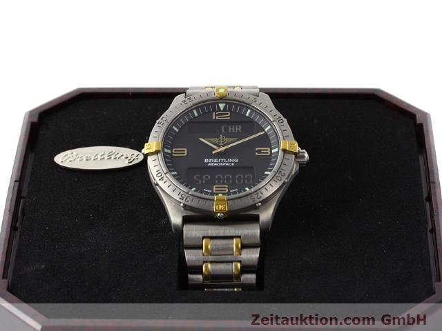 Used luxury watch Breitling Aerospace titanium / gold quartz Kal. ETA 988333 Ref. F56062  | 140016 07