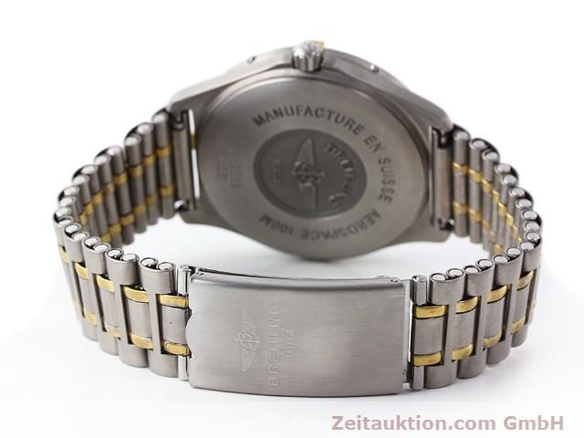 Used luxury watch Breitling Aerospace titanium / gold quartz Kal. ETA 988333 Ref. F56062  | 140016 11