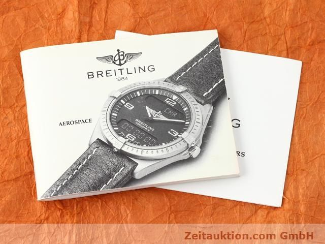 Used luxury watch Breitling Aerospace titanium / gold quartz Kal. ETA 988333 Ref. F56062  | 140016 12