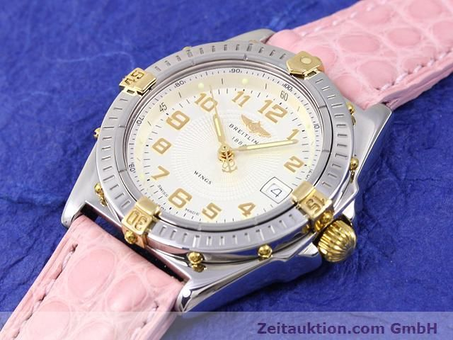 Used luxury watch Breitling Wings gilt steel quartz Kal. ETA 956612 Ref. B67050  | 140020 01
