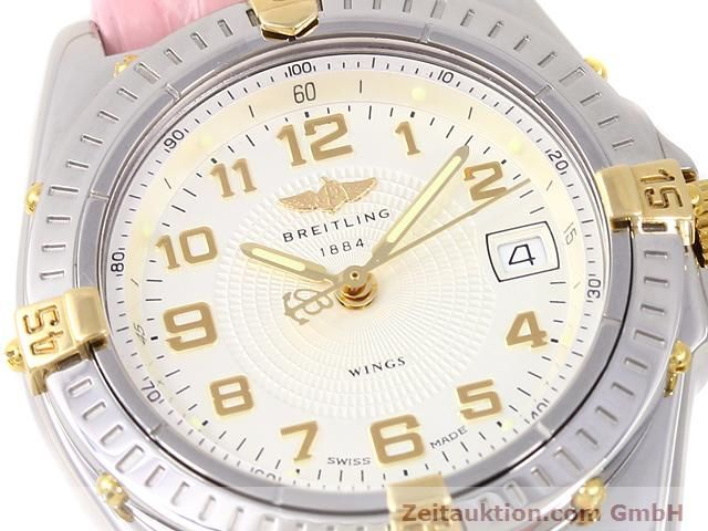 Used luxury watch Breitling Wings gilt steel quartz Kal. ETA 956612 Ref. B67050  | 140020 02