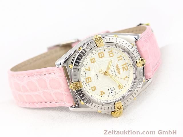 Used luxury watch Breitling Wings gilt steel quartz Kal. ETA 956612 Ref. B67050  | 140020 03